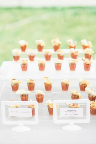 gazpacho-soup-shooters-with-mini-quesadillas-for-wedding-cocktail-hour