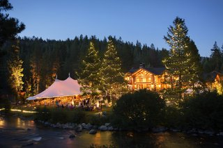 lights-illuminate-cabin-home-and-tent-and-trees
