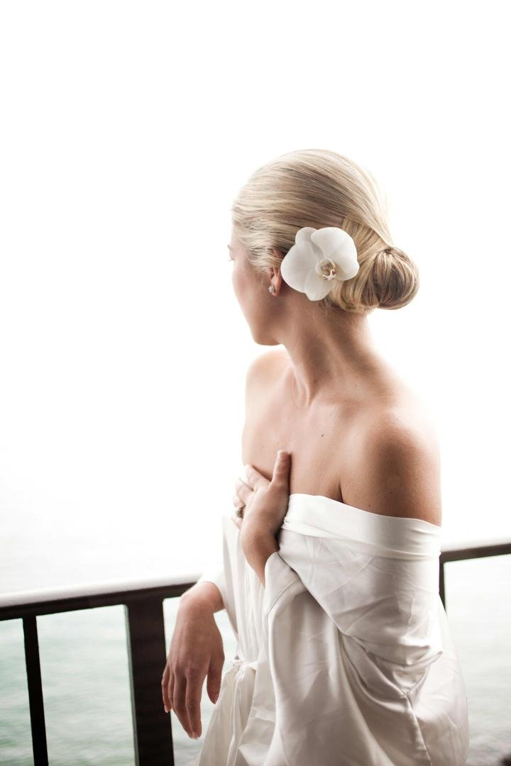 White Orchid Hair Accessory