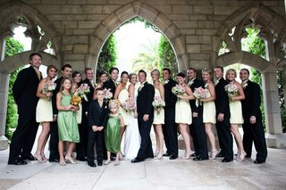 summer-wedding-party-at-the-breakers-in-florida