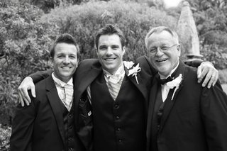 black-and-white-photo-of-groom-with-brother-and-father
