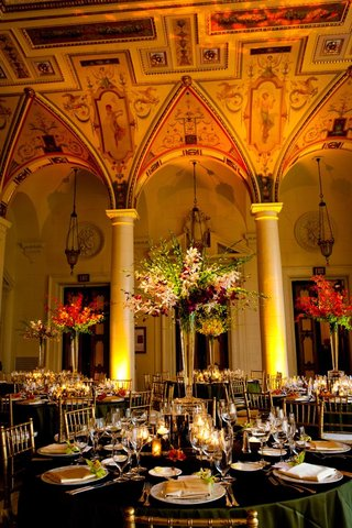 the-breakers-wedding-ballroom-with-orchid-flowers