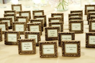 gold-frame-around-table-cards-in-calligraphy