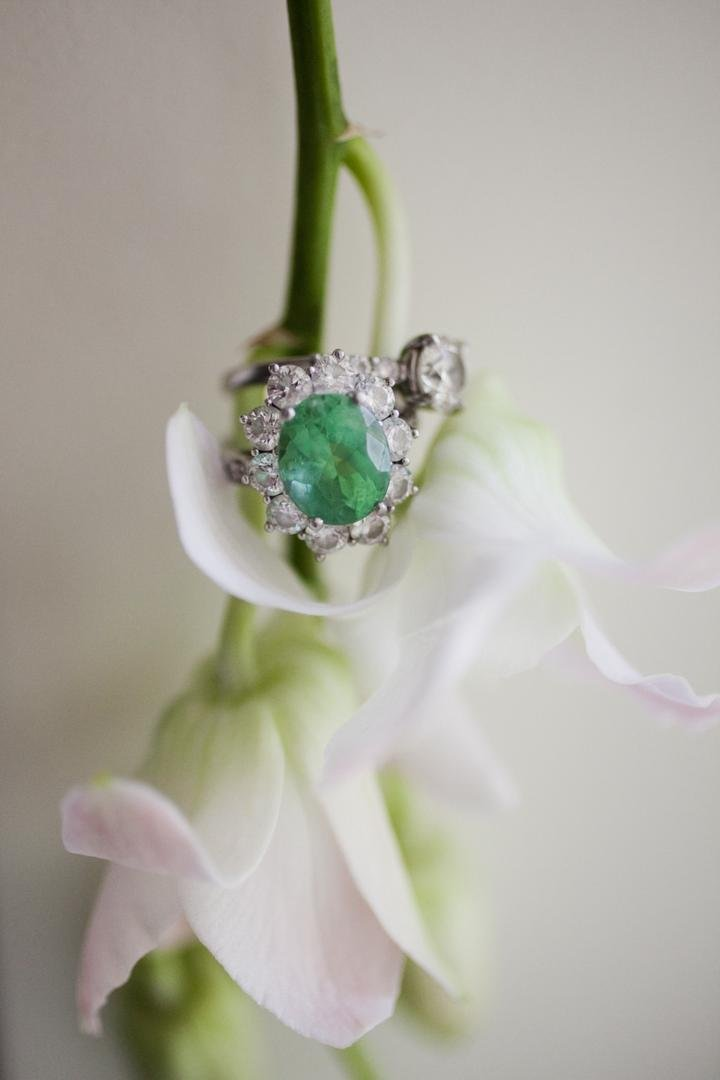 Vintage-Inspired Emerald Ring