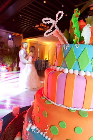 bright-jester-wedding-cake-with-stripes-and-polka-dots