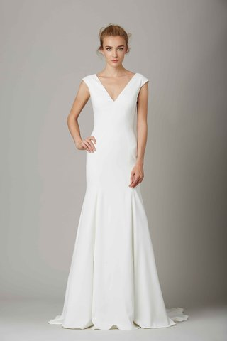 the-warehouse-v-neck-wedding-dress-by-by-lela-rose-fall-winter-2016