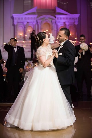 bride-in-lazaro-wedding-dress-ball-gown-from-mon-amie-bridal-salon-during-first-dance-at-vibiana