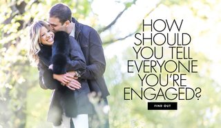 how-should-you-tell-everyone-youre-engaged-engagement-announcement-ideas