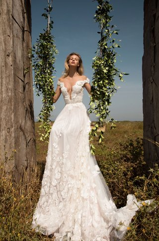 gala-by-galia-lahav-gala-collection-no-2-a-line-wedding-dress-organza-silk-flowers-off-shoulder-v