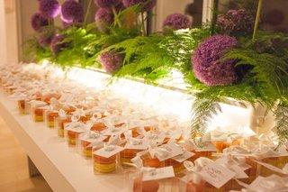 macaroon-wedding-favors-purple-allium-flowers-and-ferns