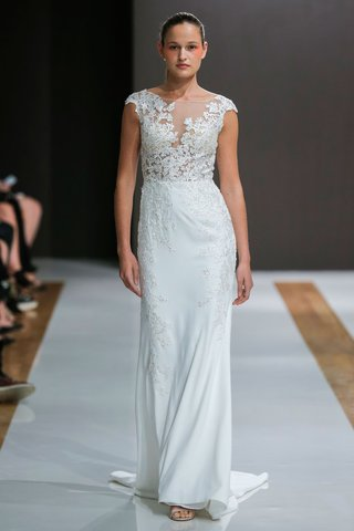 mark-zunino-spring-2018-wedding-dress-cap-sleeve-bridal-gown-embroidery-illusion-bodice-and-skirt