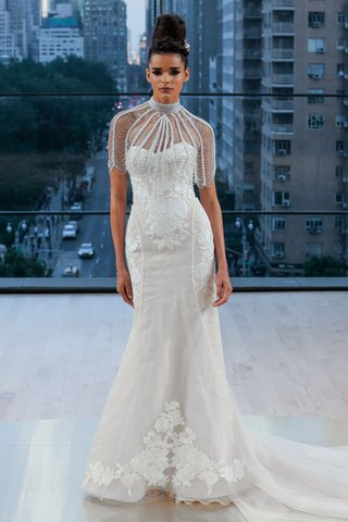 perry-ines-di-santo-fall-2018-strapless-wedding-dress-lace-applique-embroidery-on-bodice-skirt-hip