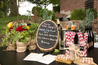 tree-trunk-chalkboard-sign-at-bridal-shower-sangria-bar