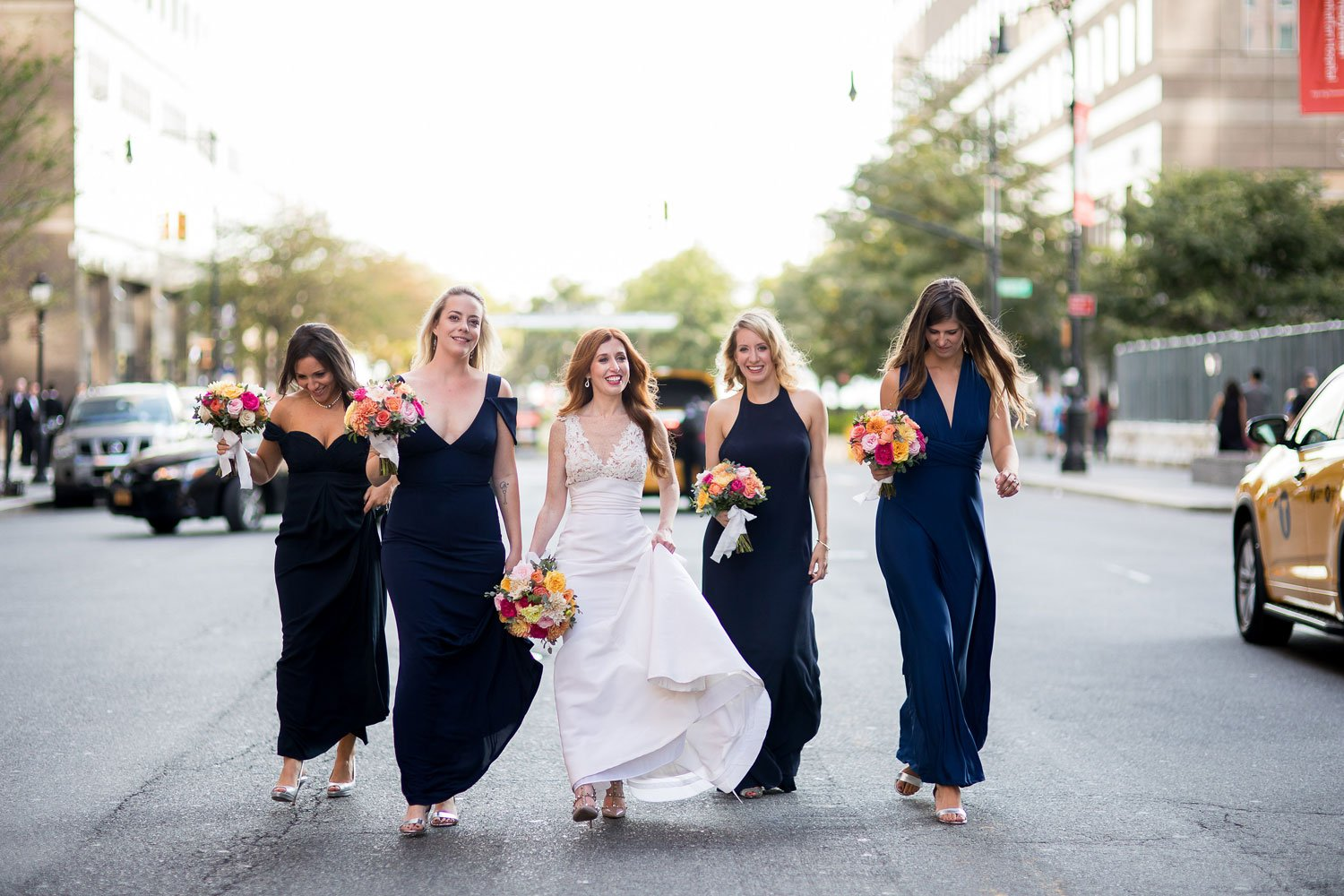 Navy Bridesmaid Dresses in NYC