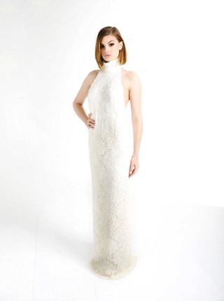 olia-zavozina-fall-2017-bridal-collection-donna-high-neck-low-back-wedding-dress-sheath-beaded-lace