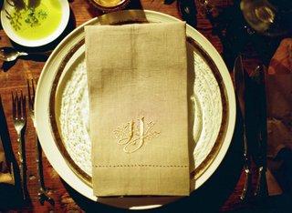 custom-grey-hemstitch-napkins-at-wedding-reception-place-setting-custom-monogram-embroidered