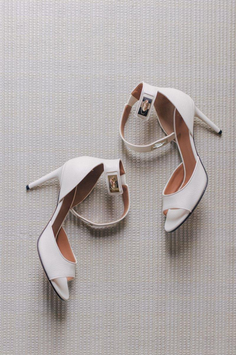 Lauren Kitt's Wedding Shoes