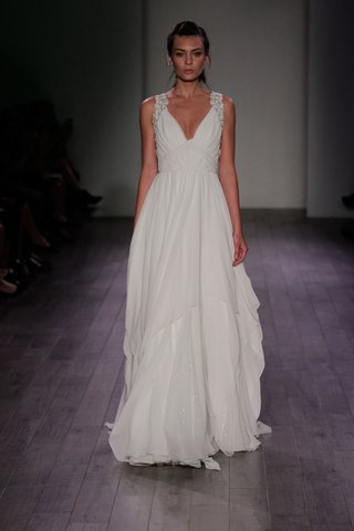 hayley-paige-2016-woven-bodice-grecian-wedding-dress-with-crystal-straps