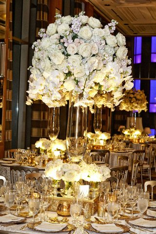 tall-white-floral-centerpieces-arrangements-gold-and-white-detailing-tablescapes