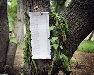 seating-assignments-for-a-robin-hood-themed-wedding-nailed-to-tree