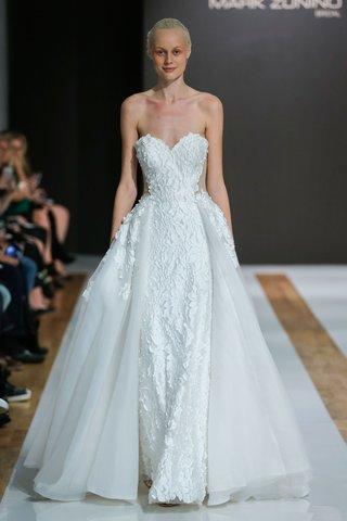 mark-zunino-spring-2018-wedding-dress-strapless-bridal-gown-overskirt-sheer-cutouts