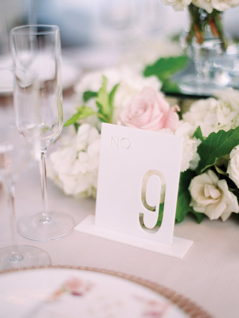 Laser-Cut Table Numbers