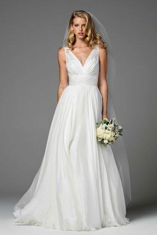 watters-2017-bridal-collection-ellen-v-neck-sheath-wedding-dress-a-line-skirt-chiffon-tulle-waist