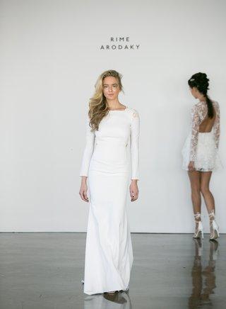 rime-arodaky-fall-2017-bridal-long-sleeve-crepe-lace-shoulder-detail-wedding-dress