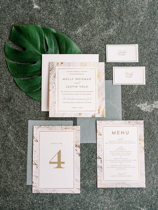 minted-wedding-invitation-table-number-menu-and-escort-cards-marble-gold-design-modern