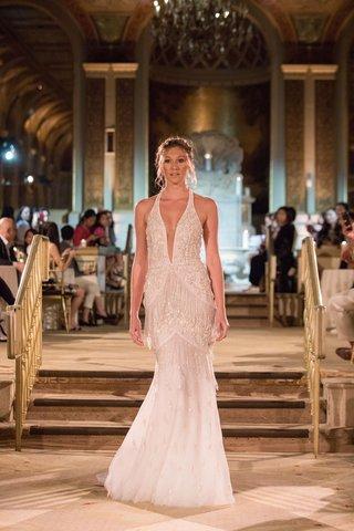 idan-cohen-fall-winter-2018-empire-of-love-wedding-dress-halter-neck-bridal-gown-trumpet-art-deco