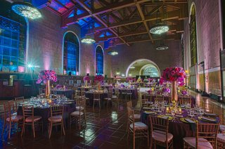 pink-and-blue-reception-lighting-at-los-angeles-union-station-venue
