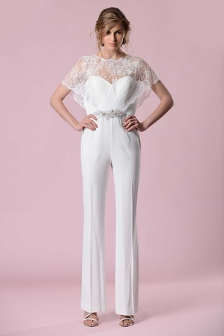 gemy-maalouf-2016-wedding-bridal-jumpsuit-with-lace-overlay-sleeves-and-neckline