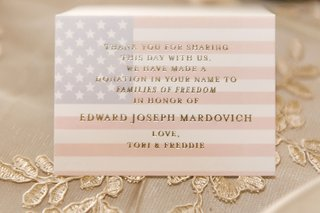 father-of-bride-died-september-11th-so-donation-was-made-in-his-honor-at-wedding-favor-american-flag