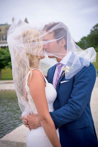 montreal-canadiens-hockey-player-brian-flynn-with-wife-in-isoude-covered-with-veil