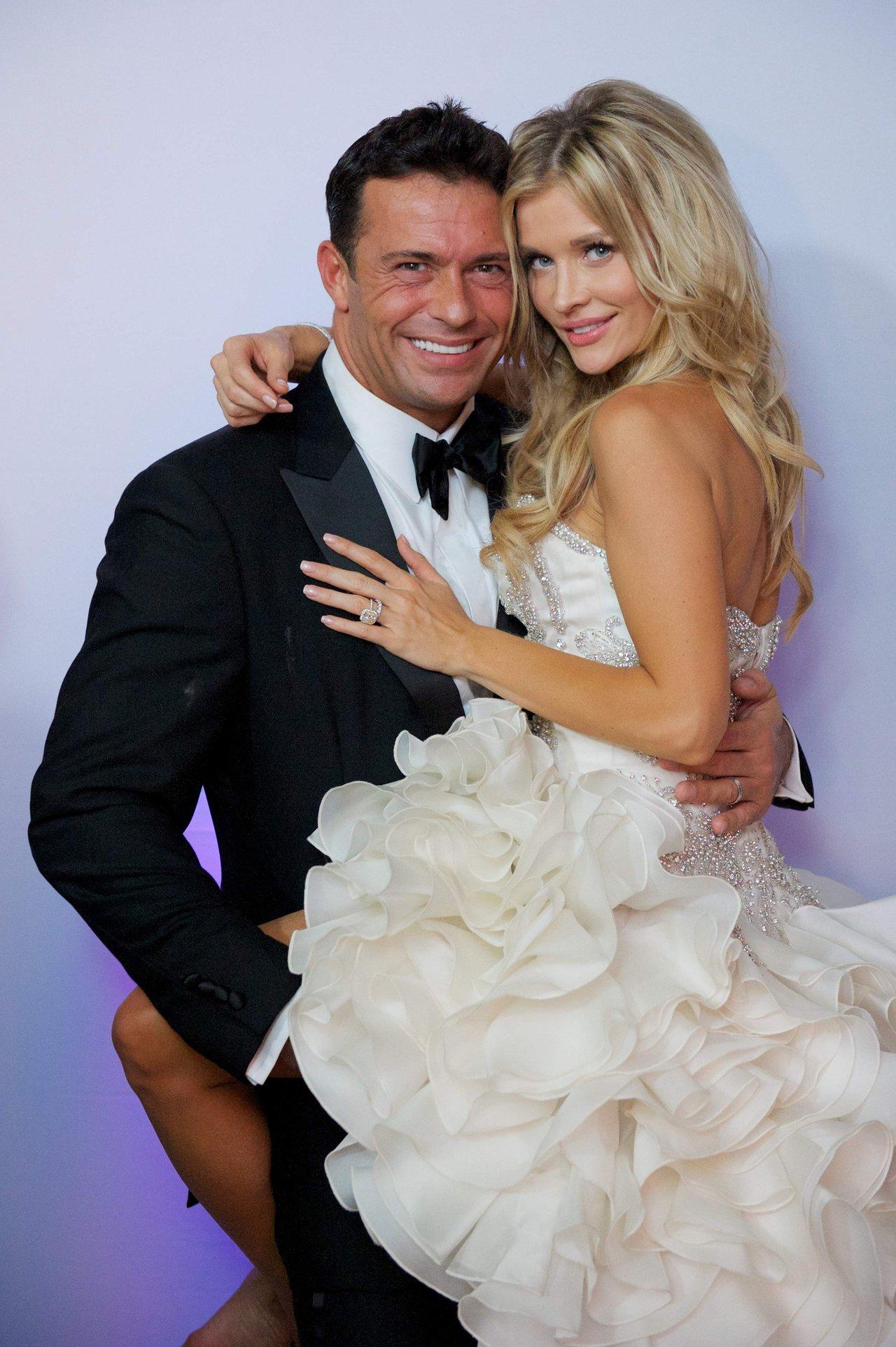 Joanna Krupa Wedding Dress