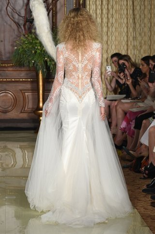 back-view-of-lace-gown-with-tulle-overskirt-by-galia-lahav
