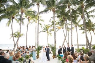 wedding-ceremony-on-the-sand-in-key-west-florida-destination-wedding-venue-ideas-palm-trees-ocean