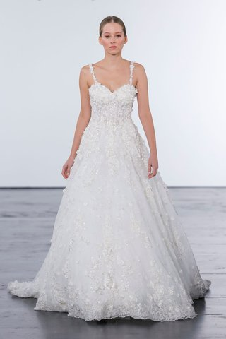 dennis-basso-for-kleinfeld-2018-collection-wedding-dress-spaghetti-strap-gown-corset-bodice-details