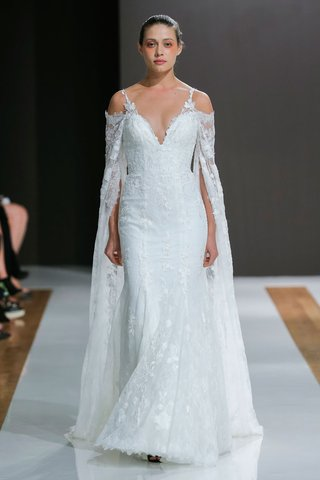 mark-zunino-spring-2018-wedding-dress-bridal-gown-with-cape-cold-shoulder-open-spaghetti-straps