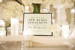 guest-book-idea-for-new-years-eve-wedding-new-years-resolutions-sign-for-years-to-come