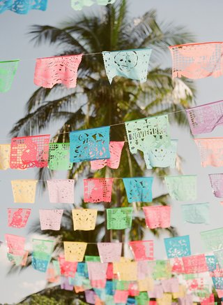 wedding-welcome-party-destination-wedding-rehearsal-dinner-mexico-flags-cutouts-paper
