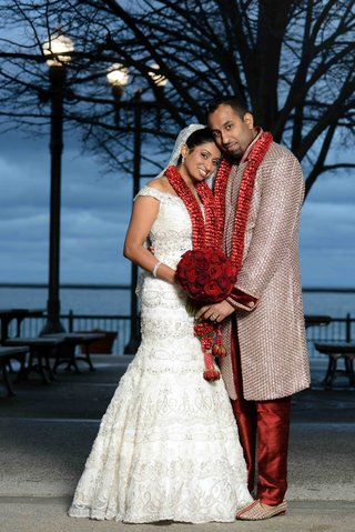 indian-woman-wearing-bridal-gown-and-man-in-sherwani