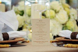 wedding-reception-menu-printed-on-taupe-paper