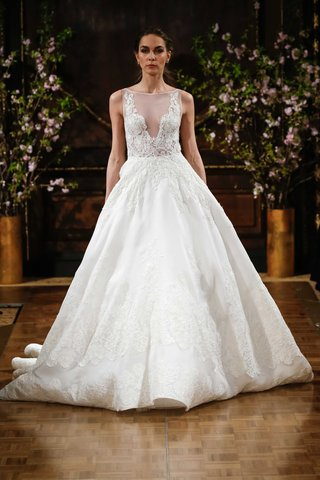 isabelle-armstrong-spring-2017-robyn-ball-gown-wedding-dress-sleeveless-lace-illusion-bateau-neck