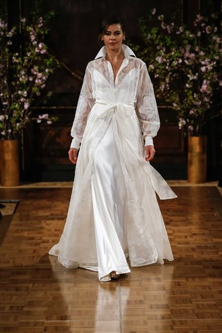 isabelle-armstrong-spring-2017-drew-wedding-dress-with-floor-length-shirt-jacket-collar-over-slip