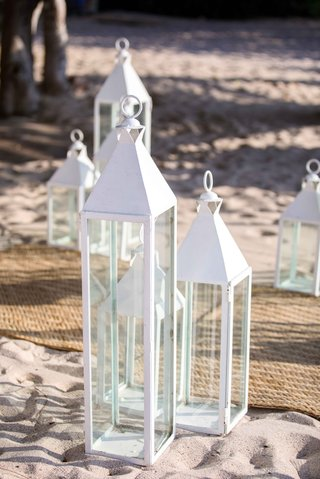 clean-white-lanterns-beach-ceremony-punta-mita-mexico-wedding-styled-shoot-decor-sand-aisle-items