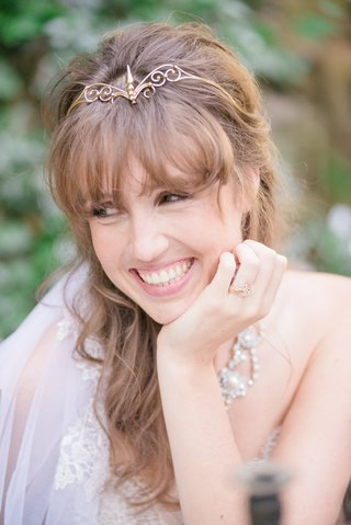 bride-gold-headband-crown-ring-vintage-smiling-celtic-wedding
