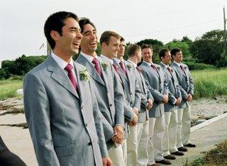 khaki-pants-and-light-grey-jackets-for-groomsmen