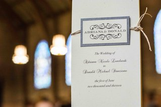 elegant-white-ceremony-program-tied-with-twine