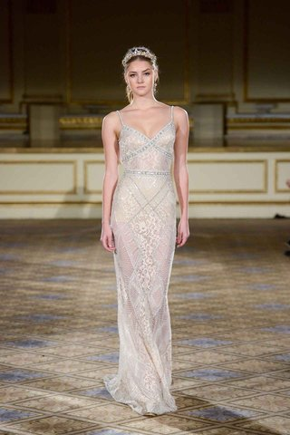 berta-fall-winter-2016-champagne-sheer-wedding-dress-with-silver-beading